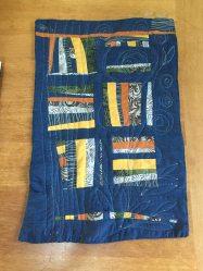 1st quilt project